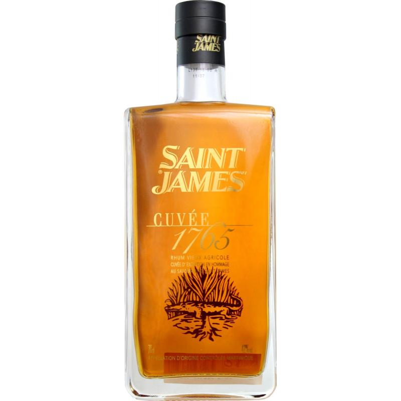 Rhum vieux Saint James Cuvée anniversaire 1765