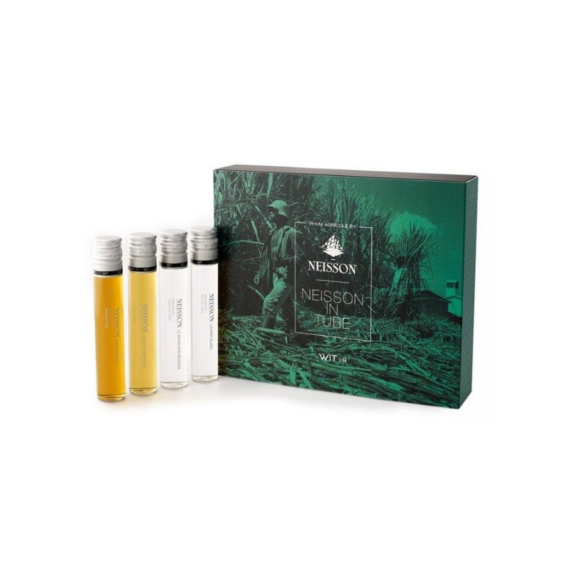Coffret rhum Neisson In Tube 4 x 5 cl