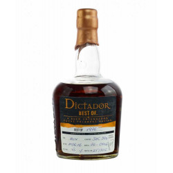 Rhum vieux Dictador Best Of 1976