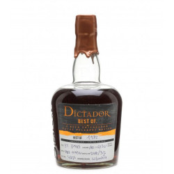 Rhum vieux Dictador Best Of 1982