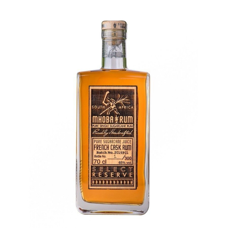 Rhum ambré Mhoba Select Reserve French Cask