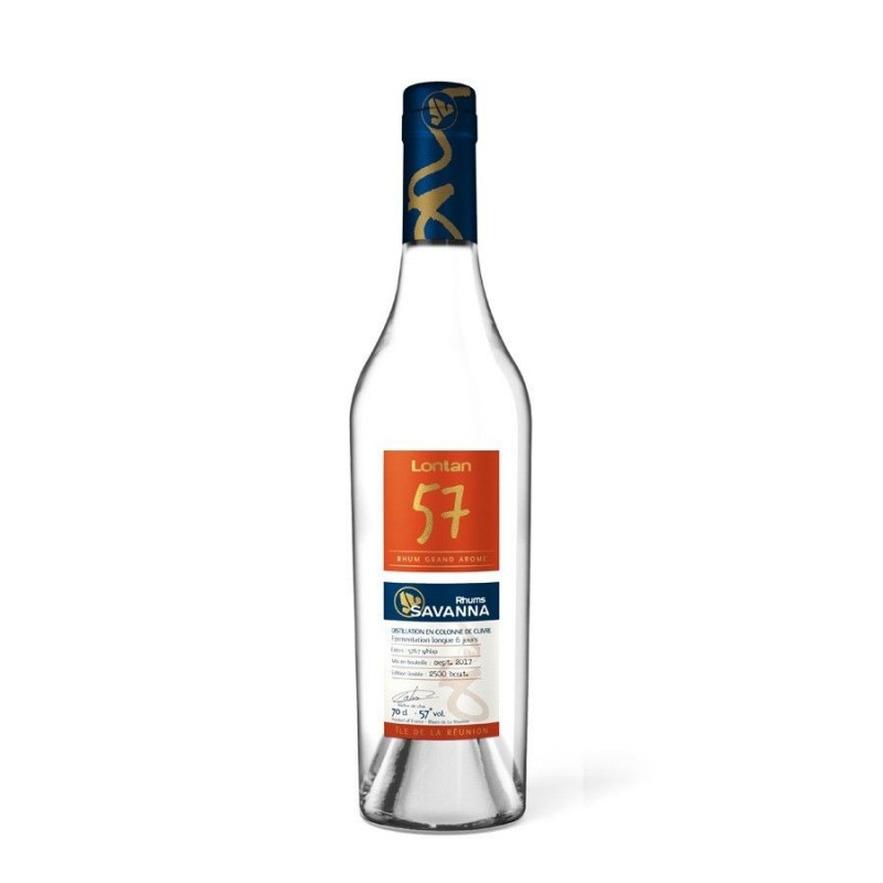 Rhum blanc Savanna Lontan 57%