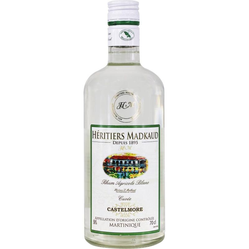 Rhum blanc Héritiers Madkaud