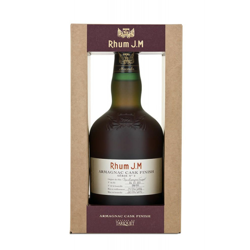 Rhum JM finish armagnac