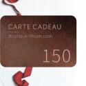 Carte Cadeau Rhum 150 €