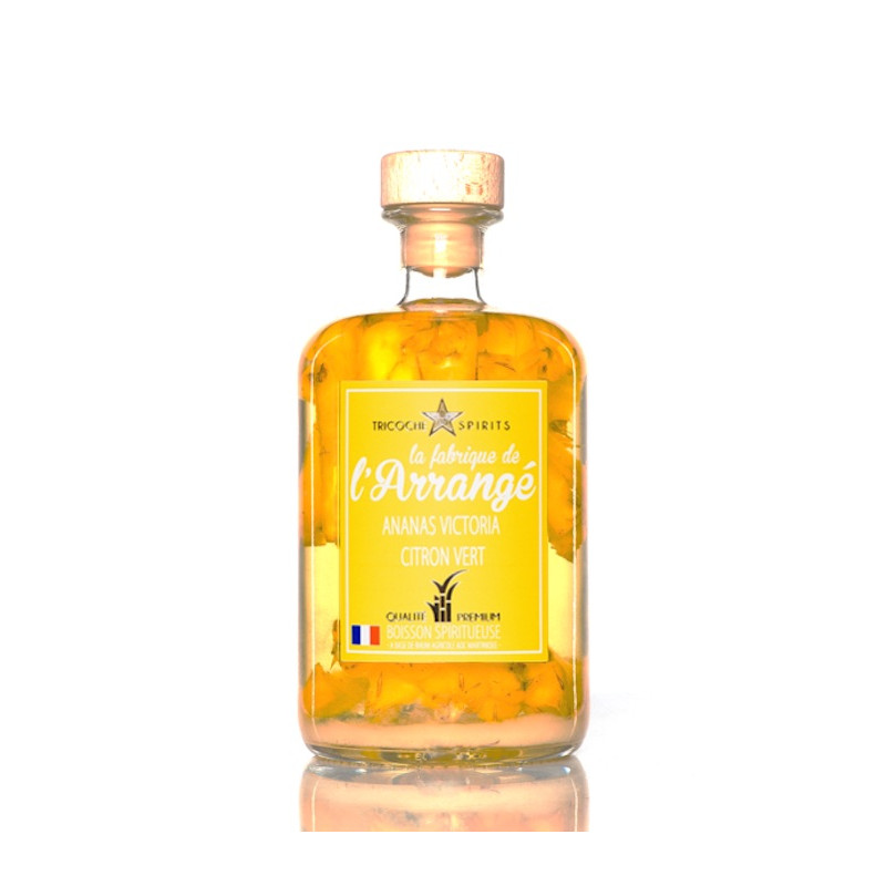 Rhum arrangé Tricoche Ananas Victoria Citron Vert