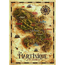 Carte Rhum Martinique