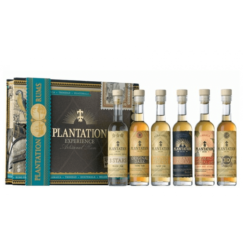 Coffret rhums Plantation Experience x 6