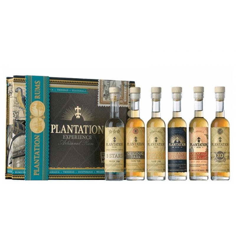 Coffret rhums Plantation Experience x 6