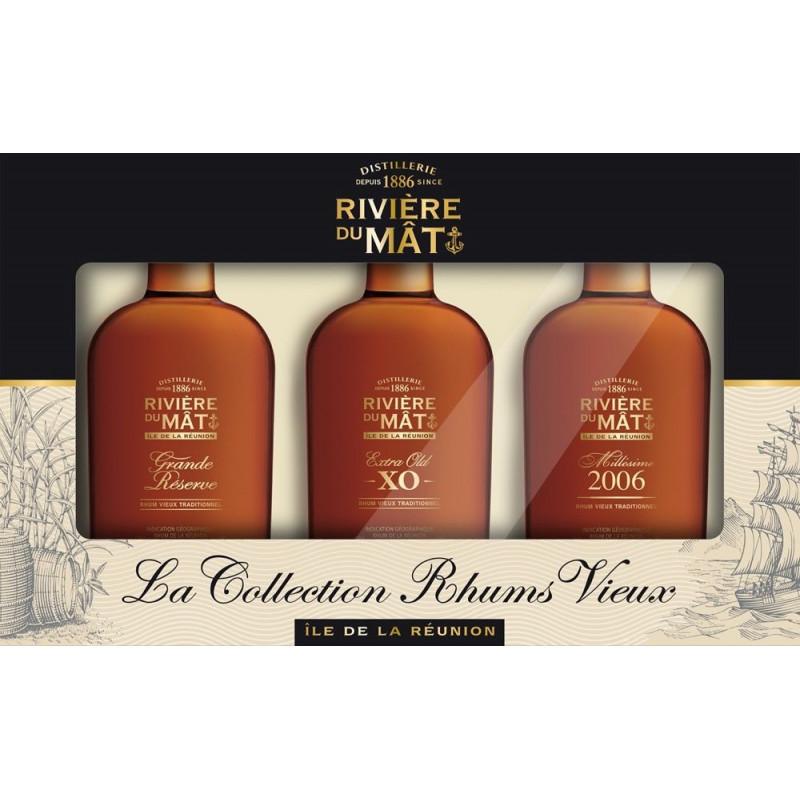Coffret rhum Rivière du Mât (Grande Réserve, 2006, XO)