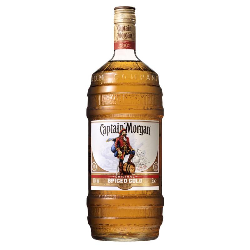 Rhum Captain Morgan Original Spiced Gold Barrel
