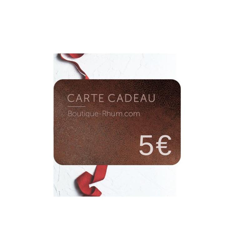 Carte Cadeau 5 €
