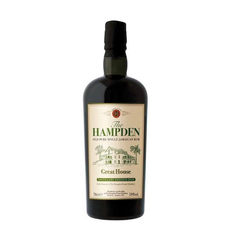 Rhum vieux Hampden Great House Distillery Edition 2020