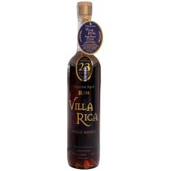 Rhum vieux Villa Rica 23 ans