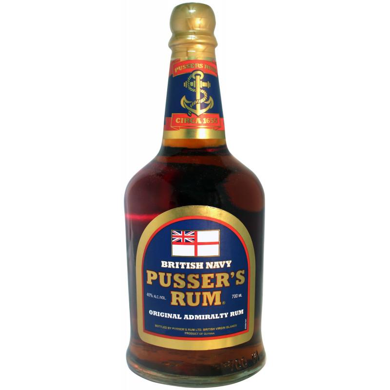 Rhum vieux Pusser's Blue Label