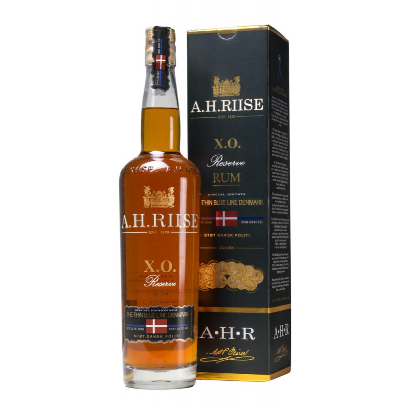 Rhum vieux AH RIISE The Thin Blue Line