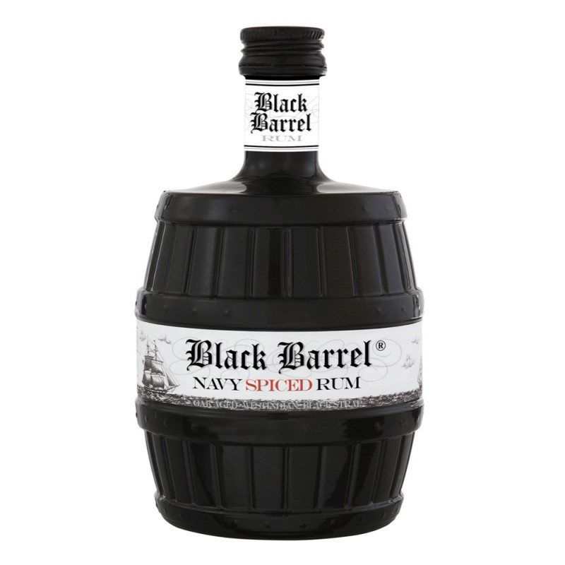AH RIISE - BLACK BARREL - Navy Spiced Rum