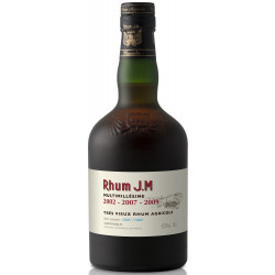 Rhum JM Multimillésime 2002-2007-2009