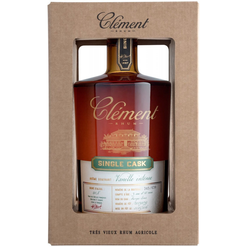 Rhum Clément Single Cask Vanille