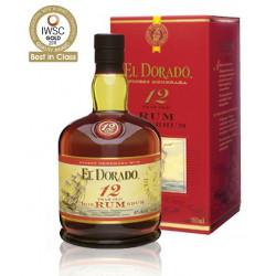 Rhum vieux El Dorado 12 ans