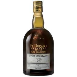 Rhum vieux El Dorado Rare Collection Port Mourant 1997