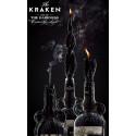 Coffret Rhum Kraken 40% + Bougie