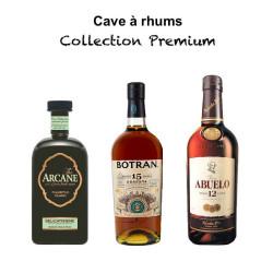 """Cave à rhums """"Collection premium"""""""