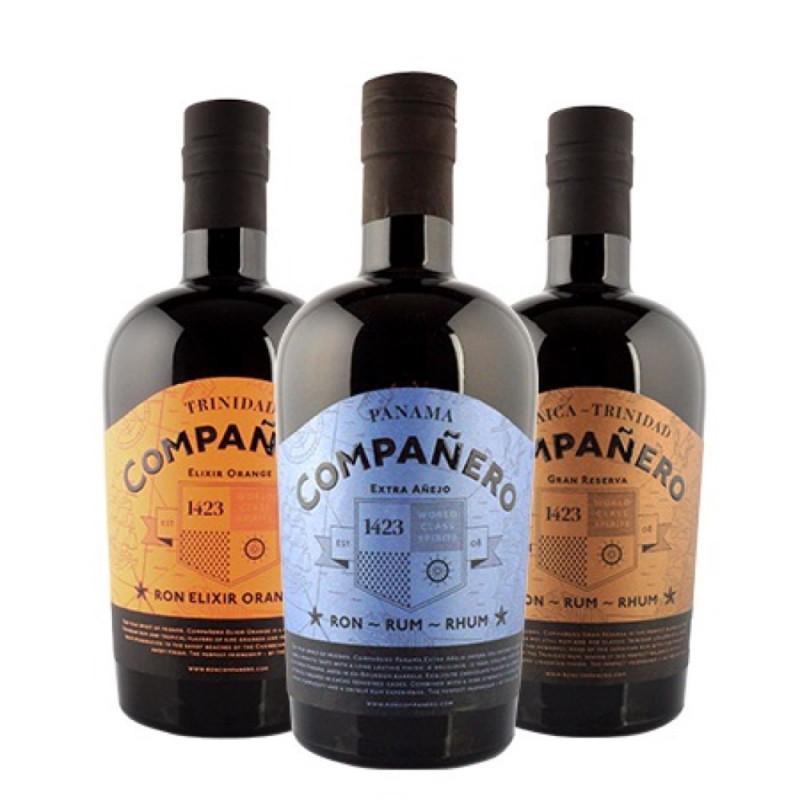 Pack Rhum Compañero Elixir Orange - Extra Anejo - Gran Reserva