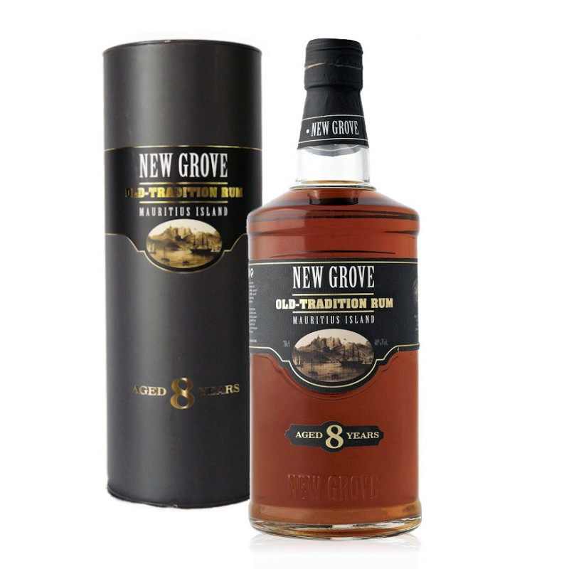 Rhum New Grove 8 ans