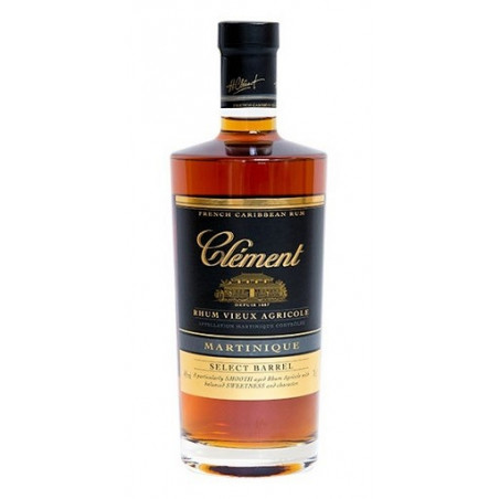 Rhum ambré Clément Select Barrel