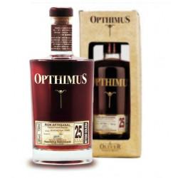 Rhum vieux Opthimus 25 ans
