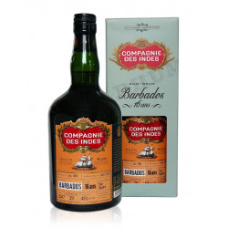 Rhum Compagnie des Indes Barbados single cask 16 ans