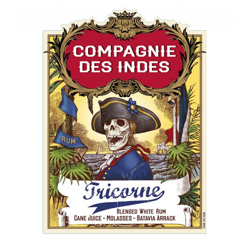 Rhum Compagnie des Indes Tricorne