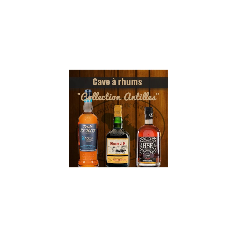"Cave à rhum ""Collection Antilles"""