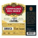 Rhum Compagnie des Indes Jamaïca 15 ans single cask Hampden