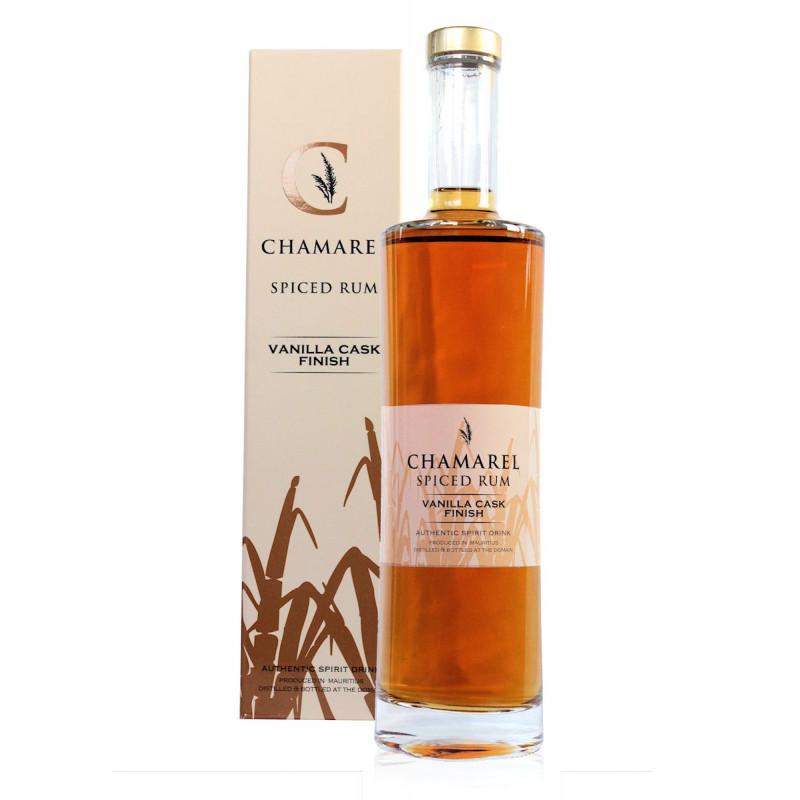 Rhum Chamarel spiced vanilla cask