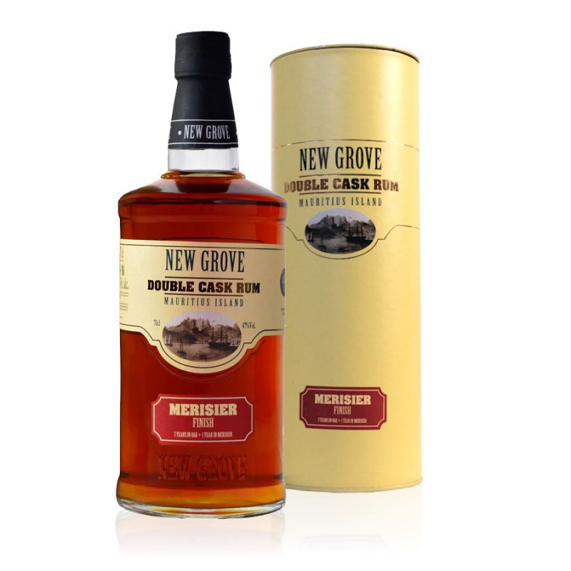 Rhum New Grove double cask merisier finish