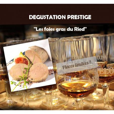 Dégustation rhums et foies gras le 13-10-2017