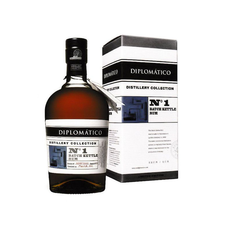 Rhum Diplomatico N°1 batch kettle