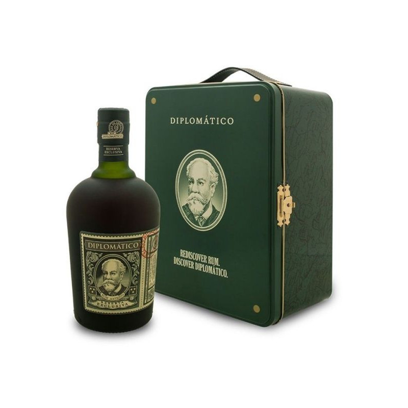 Diplomatico 12 ans - Coffret valise