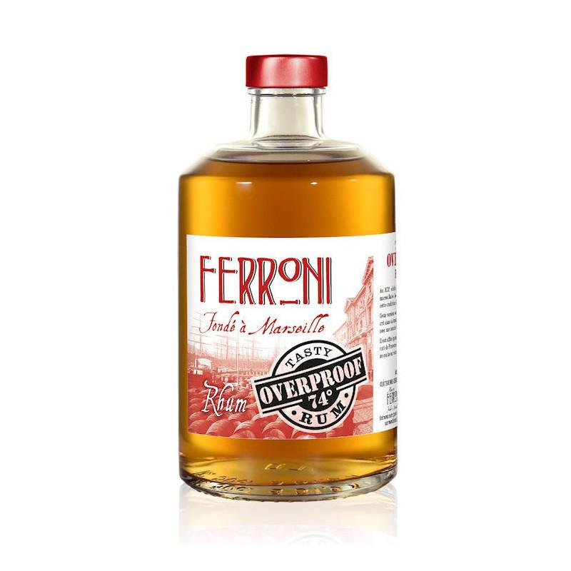 Rhum blanc Ferroni Tasty Overproof 74°