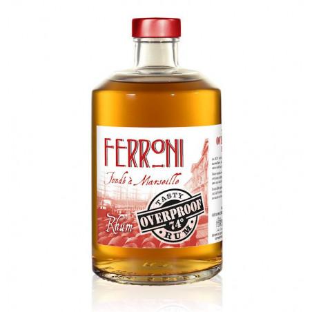 Rhum Ferroni Tasty overproof 74°