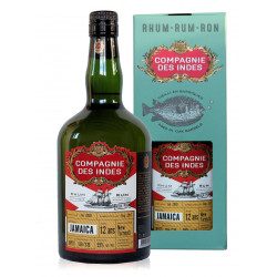 Rhum Compagnie des Indes Jamaïca 12 ans single cask New Yarmouth