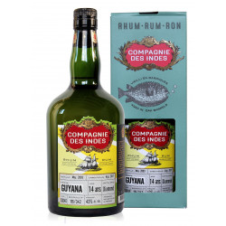 Rhum Compagnie des Indes Guyana 14 ans single cask Diamond