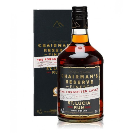 "Rhum Chairman's reserve ""The forgotten casks"""
