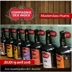 Masterclass rhums Compagnie des Indes