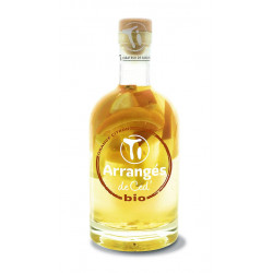 Punch au rhum bio orange citron