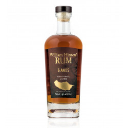 Rhum vieux 6 ans William Hinton