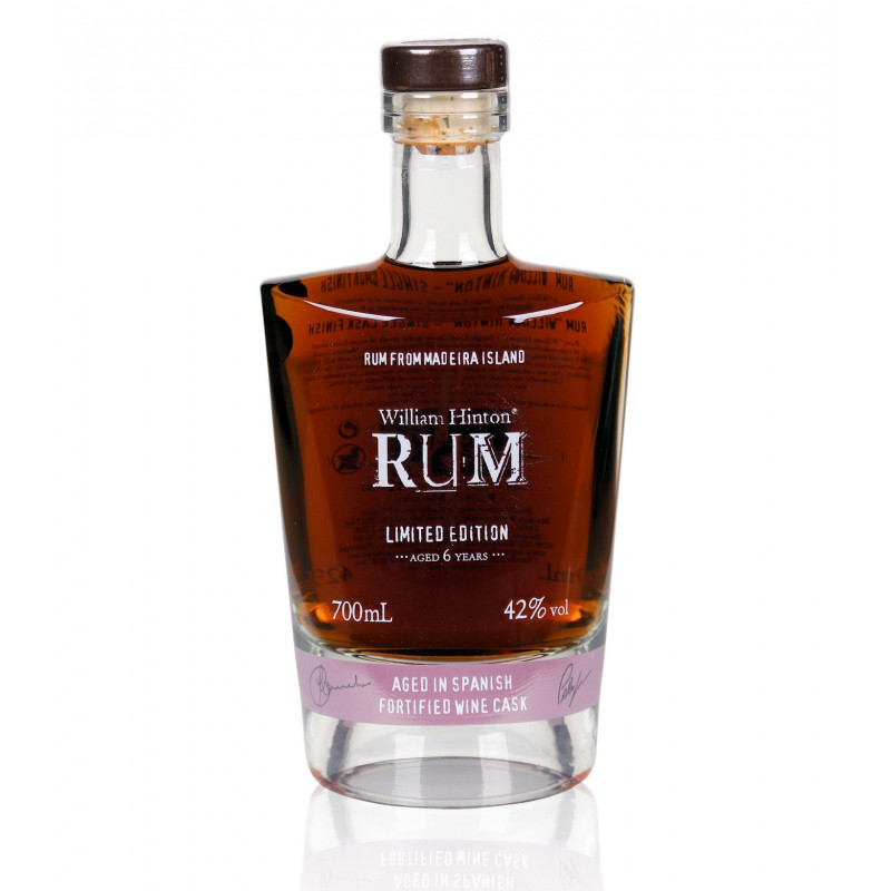 Rhum vieux William Hinton 6 ans spanish fortified wine cask