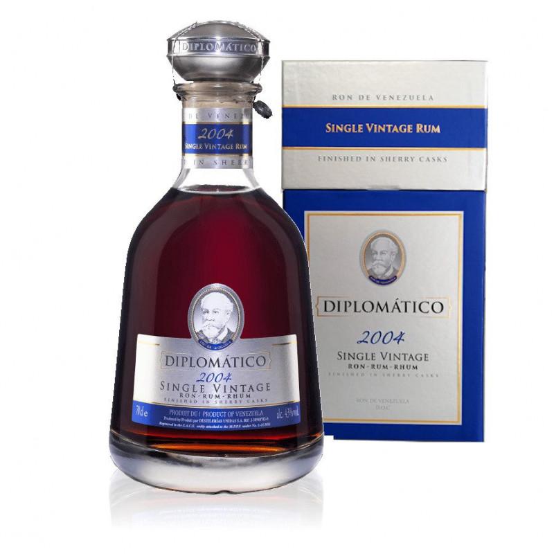 Rhum Diplomatico single vintage 2002